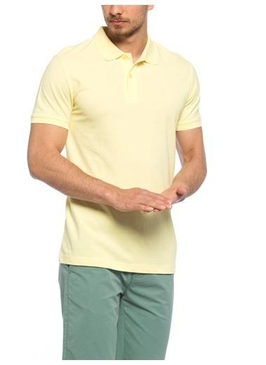 LC Waikiki Polo Yaka Tişört Sarı